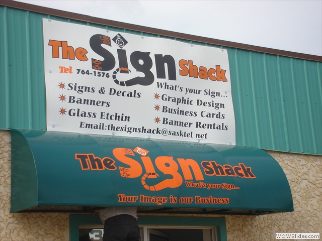 The Sign Shack