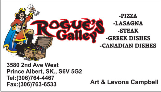 Rougues Gallery Business card